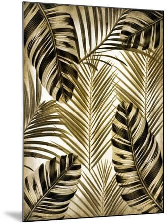 Gold Palm 2-Kimberly Allen-Mounted Art Print