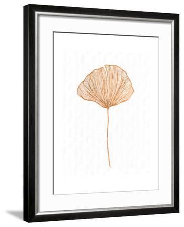 Copper Botanical 3-Kimberly Allen-Framed Art Print