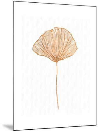 Copper Botanical 3-Kimberly Allen-Mounted Art Print