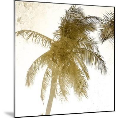 Bright Palm Gold 1-Kimberly Allen-Mounted Art Print