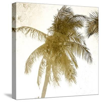 Bright Palm Gold 1-Kimberly Allen-Stretched Canvas Print