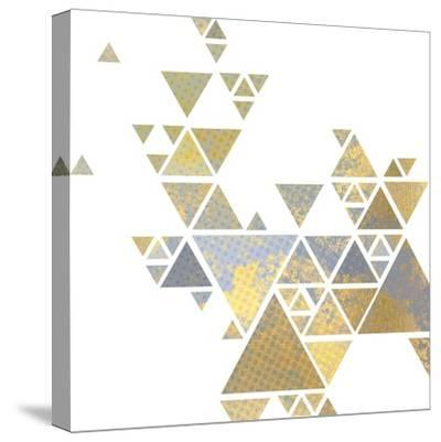 Triangle Gold 2-Kimberly Allen-Stretched Canvas Print