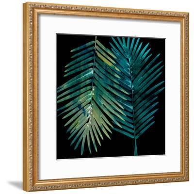 Watercolor Burst 1-Sheldon Lewis-Framed Art Print