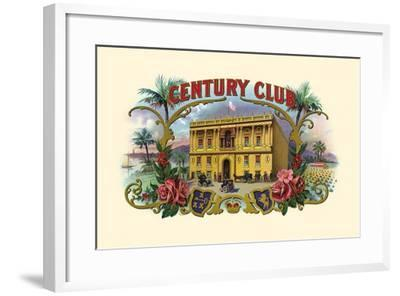 Century Club- Haywood, Strasser & Voigt Litho-Framed Art Print