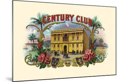 Century Club- Haywood, Strasser & Voigt Litho-Mounted Art Print