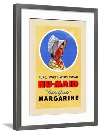 Nu-Maid Margarine-Curt Teich & Company-Framed Art Print