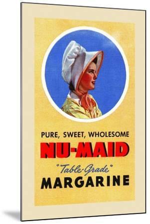 Nu-Maid Margarine-Curt Teich & Company-Mounted Art Print