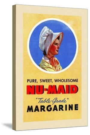 Nu-Maid Margarine-Curt Teich & Company-Stretched Canvas Print
