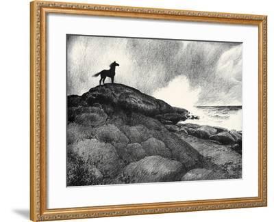 Moifaa; Stanger Than Fiction-C.W. Anderson-Framed Art Print