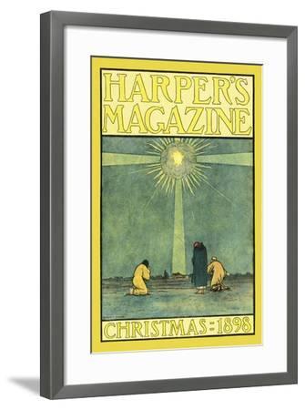 Harper's Magazine, Christmas 1898-Harvey Ellis-Framed Art Print
