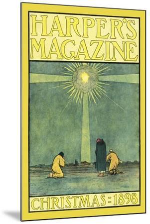 Harper's Magazine, Christmas 1898-Harvey Ellis-Mounted Art Print