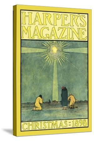 Harper's Magazine, Christmas 1898-Harvey Ellis-Stretched Canvas Print