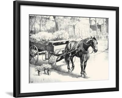 Nig; And Noon-C.W. Anderson-Framed Art Print