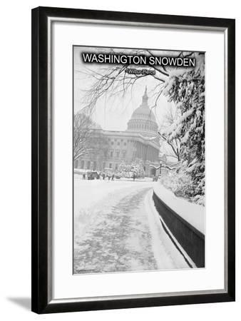 Washington Snowden-Wilbur Pierce-Framed Art Print