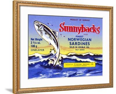 Sunnybacks--Framed Art Print
