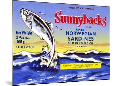 Sunnybacks--Mounted Art Print
