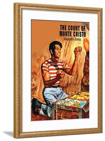 The Count Of Monte Christo--Framed Art Print