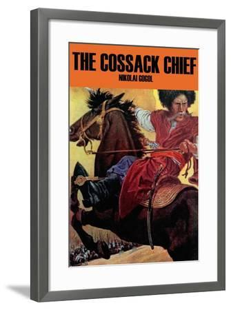 The Cossak Chief--Framed Art Print