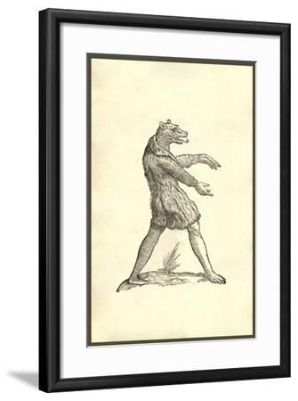 Cynocephali Effigies-Ulisse Aldrovandi-Framed Art Print