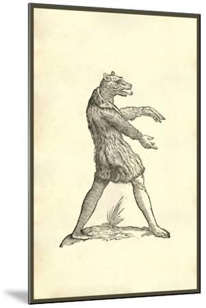 Cynocephali Effigies-Ulisse Aldrovandi-Mounted Art Print