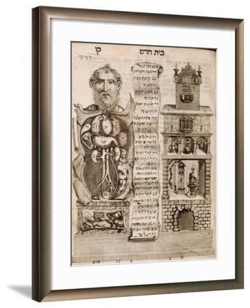 The House Of The Body-Tobais Cohn-Framed Art Print