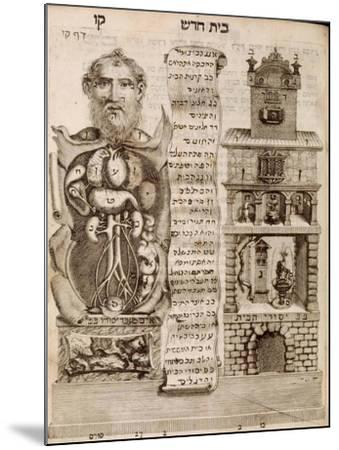 The House Of The Body-Tobais Cohn-Mounted Art Print