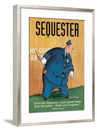 Sequester-Wilbur Pierce-Framed Art Print