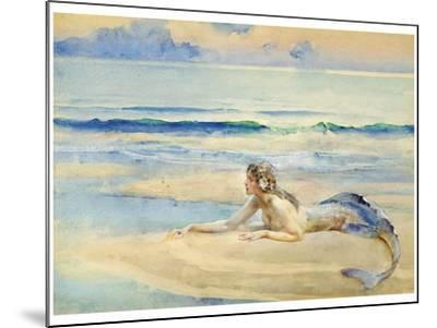 The Mermaid-John Reinhard Weguelin-Mounted Art Print