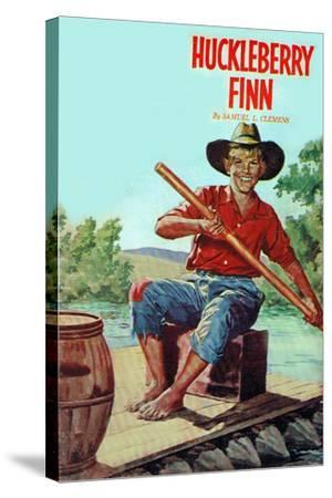 Huckleberry Finn--Stretched Canvas Print