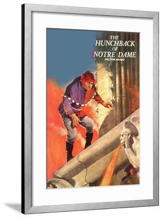 The Hunchback Of Notre Dame--Framed Art Print
