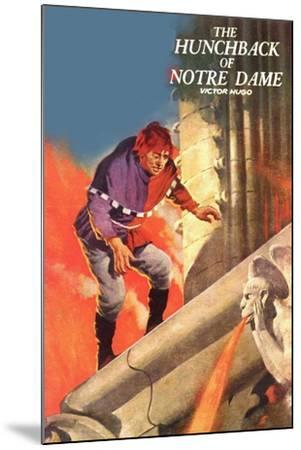 The Hunchback Of Notre Dame--Mounted Art Print