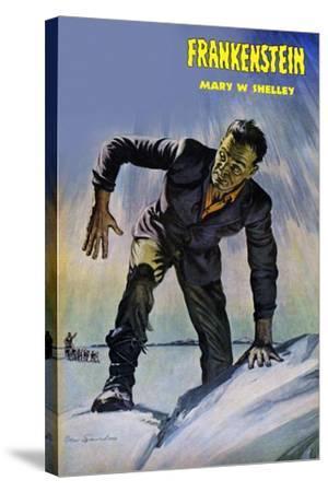 Frankenstein--Stretched Canvas Print
