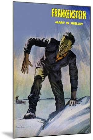 Frankenstein--Mounted Art Print