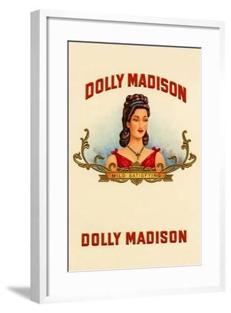Dolly Madison-Mild Satisfying--Framed Art Print