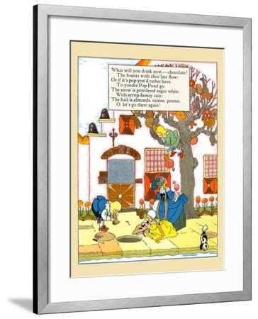 What Will You Drink Now?- Maud & Miska Petersham-Framed Art Print
