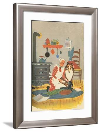 Black Sheep-Tom Sinnickson-Framed Art Print