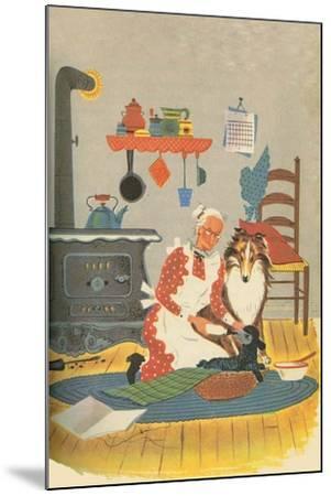 Black Sheep-Tom Sinnickson-Mounted Art Print