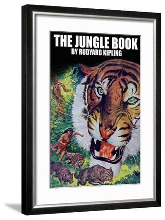 The Jungle Book--Framed Art Print