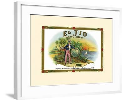 El Tio De Puerto Rico--Framed Art Print