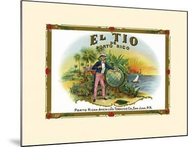 El Tio De Puerto Rico--Mounted Art Print