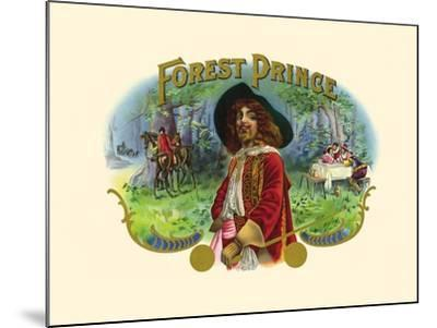Forest Prince--Mounted Art Print