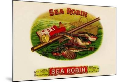 W.B. Lenz Sea Robin--Mounted Art Print