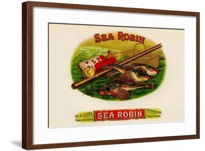 W.B. Lenz Sea Robin--Framed Art Print