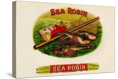 W.B. Lenz Sea Robin--Stretched Canvas Print