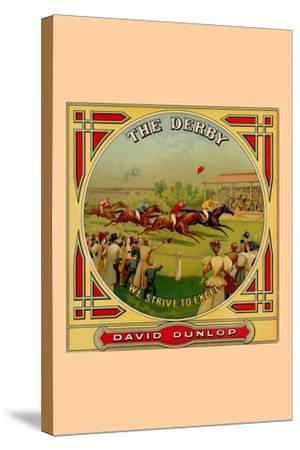 The Derby--Stretched Canvas Print