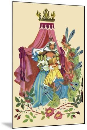 Fairy Queen-Sheilah Beckett-Mounted Art Print