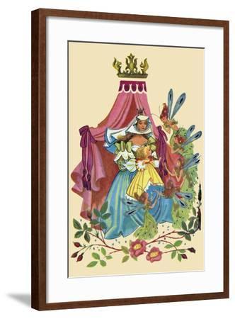 Fairy Queen-Sheilah Beckett-Framed Art Print