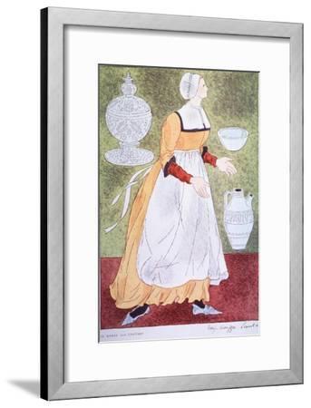 16Th Century Nurse-Warja Honegger-Lavater-Framed Art Print
