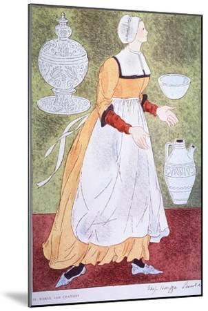 16Th Century Nurse-Warja Honegger-Lavater-Mounted Art Print