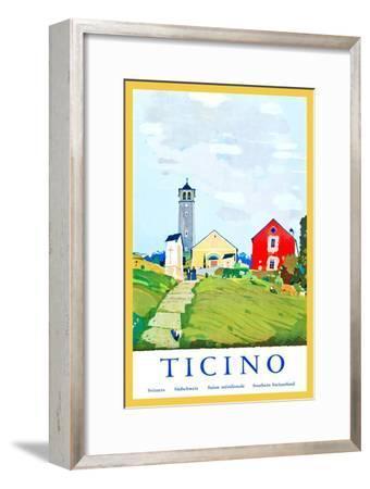 Ticino-Daniele Buzzi-Framed Art Print